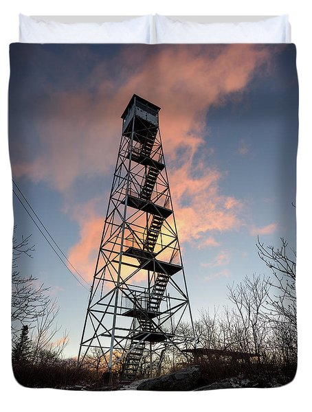 Fire Tower Sky Duvet Cover