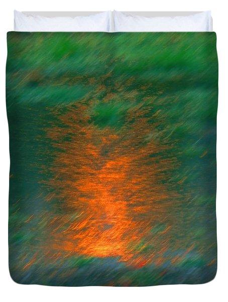 Fire Water Duvet Cover