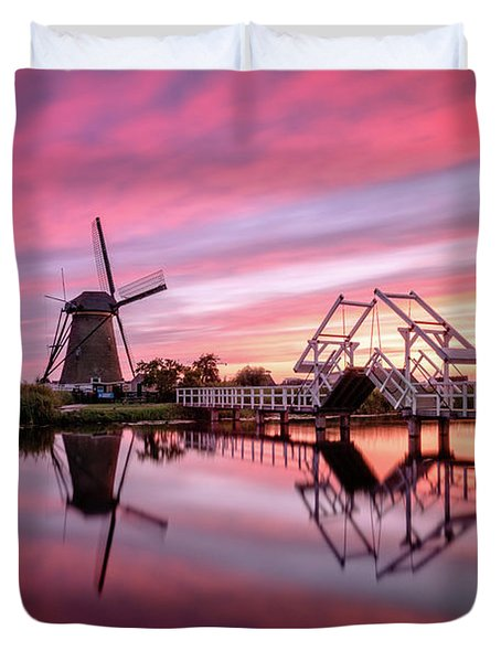 Fired Sky Kinderdijk Duvet Cover