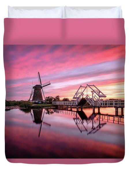 Fired Sky Kinderdijk Duvet Cover