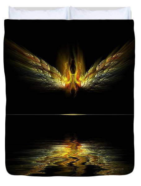 Firefly Duvet Cover by Gordon Engebretson