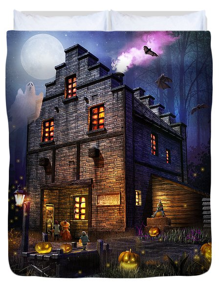 Firefly Inn Halloween Edition Duvet Cover