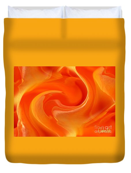 Firestorm Duvet Cover