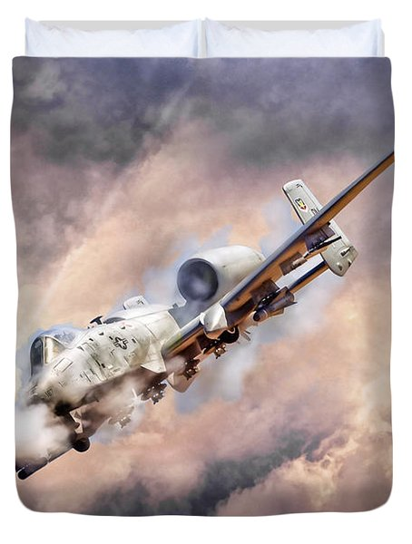 Firestorm Duvet Cover