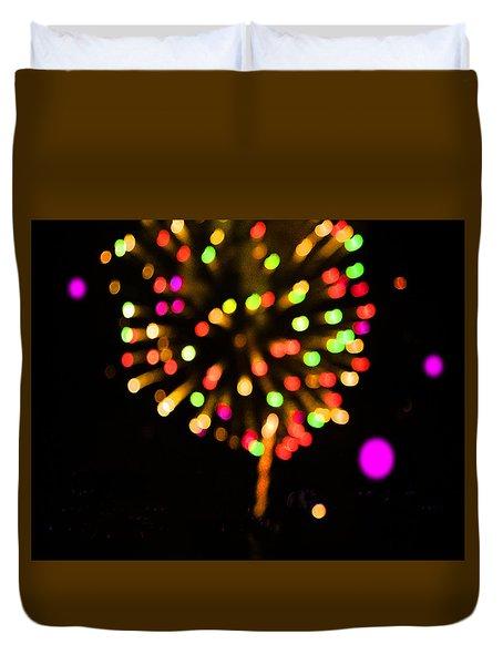 Firework Duvet Cover