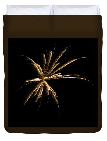 Fireworks 1 Duvet Cover by Ellery Russell