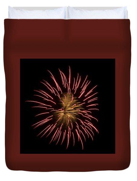 Fireworks 2 Duvet Cover by Ellery Russell