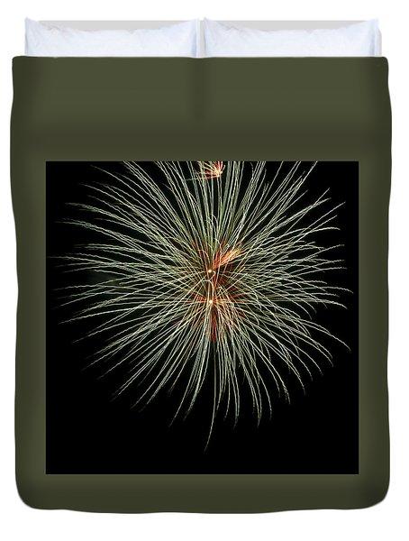 Fireworks 3 Duvet Cover by Ellery Russell