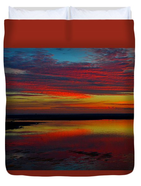 Fireworks From Nature Duvet Cover