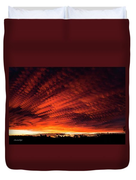 Fiery Sky 7 Duvet Cover