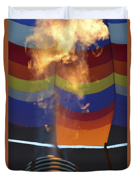 Firing Up Duvet Cover