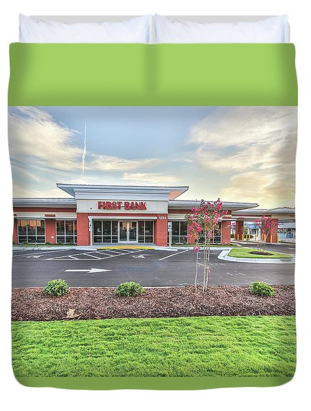 First Bank 4 Duvet Cover