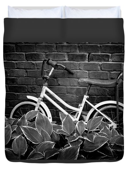 First Bicycle Duvet Cover