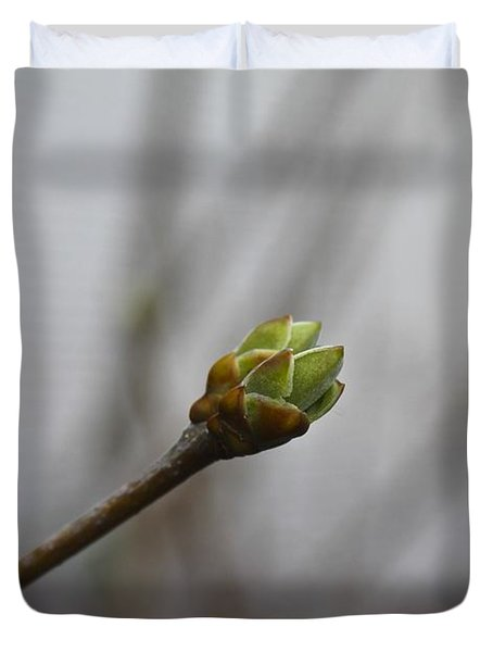 First Bud Duvet Cover