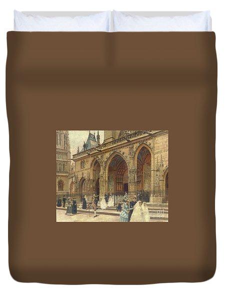 First Communion Duvet Cover