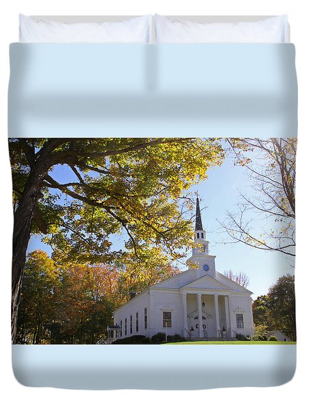 First Congregational Canterbury Duvet Cover