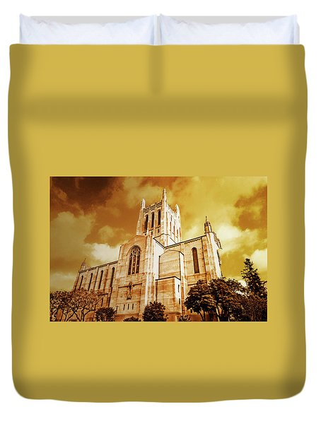 First Congregational Church  Duvet Cover