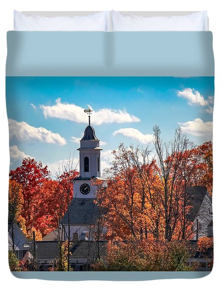 First Congregational Church Of Southampton Duvet Cover