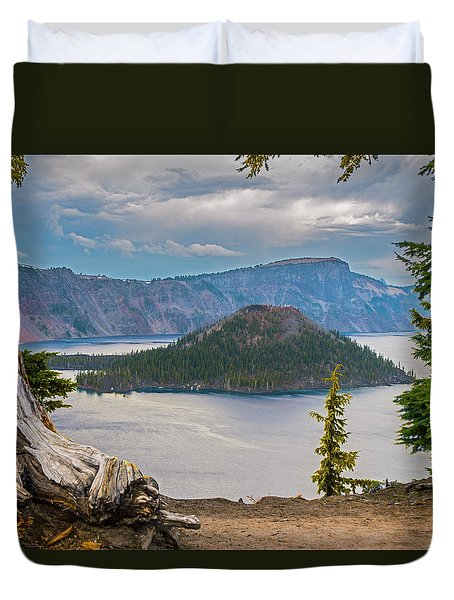 First Crater View Duvet Cover