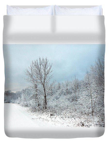 First Here  Duvet Cover