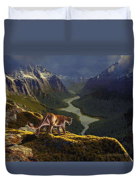 First Interlude Duvet Cover