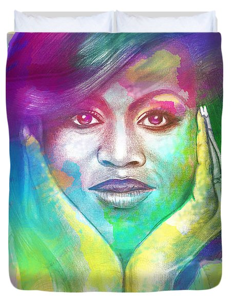 First Lady Obama Duvet Cover