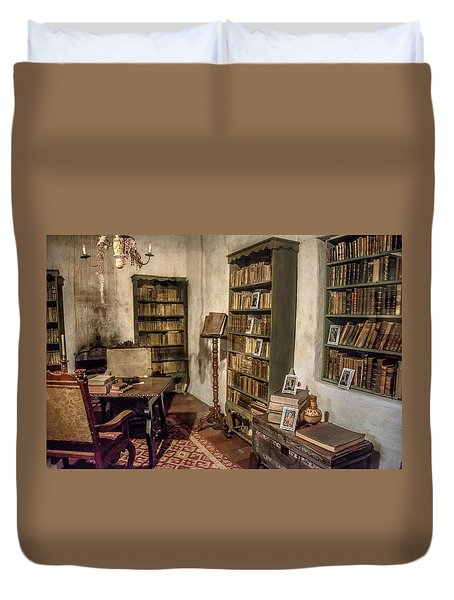 First Library Duvet Cover by Patrick Boening