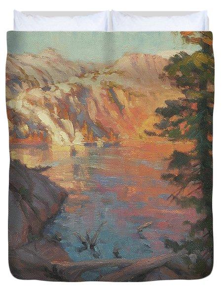 First Light Wilderness Duvet Cover