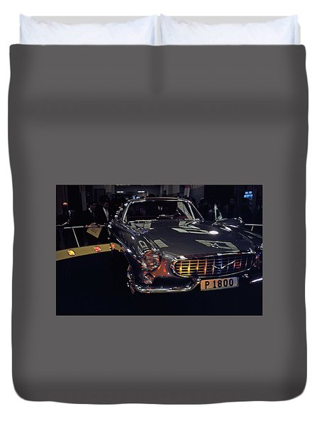 Duvet Cover featuring the photograph First Look P 1800 by John Schneider