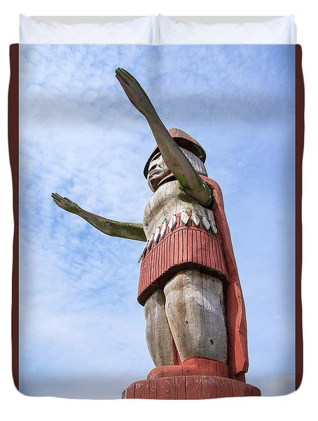 First Nations Welcome Duvet Cover