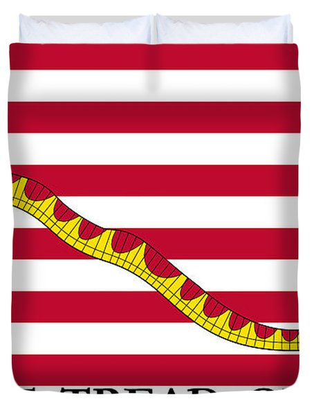 First Navy Jack Duvet Cover