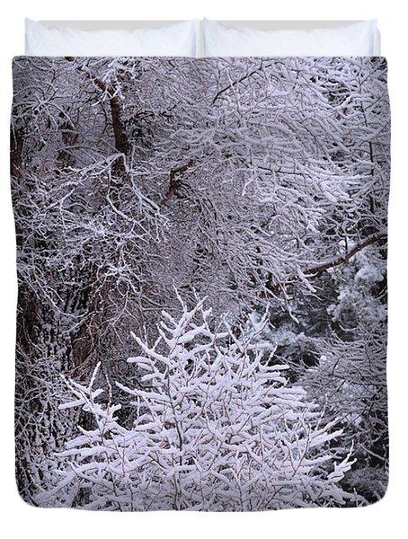 First Snow I Duvet Cover