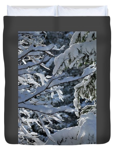 First Snow II Duvet Cover