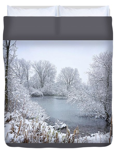 First Snow Duvet Cover