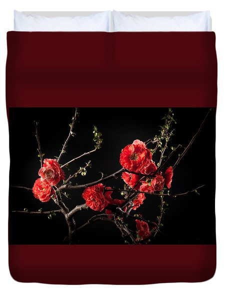 First Spring Blossom Duvet Cover by Catherine Lau