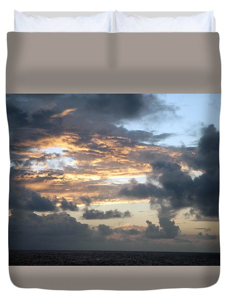 First Sunrise  Duvet Cover