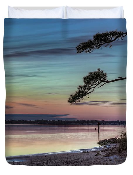 First Sunset Duvet Cover