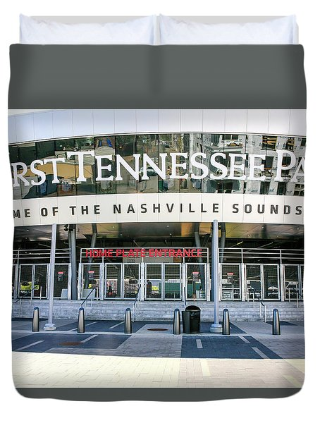 First Tennessee Park, Nashville Duvet Cover