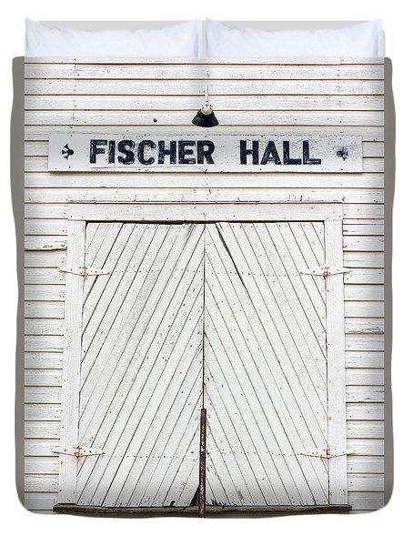 Fischer Dance Hall Duvet Cover