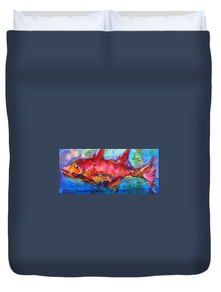 Fish 4 Duvet Cover