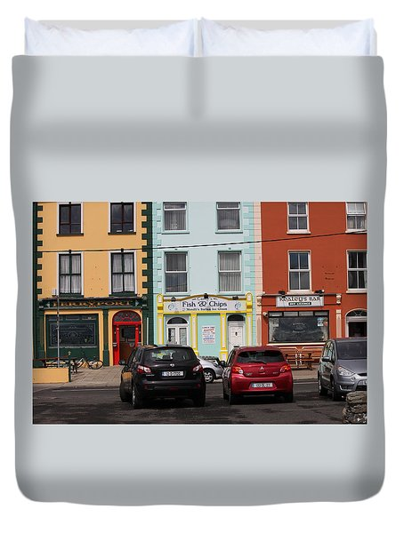 Fish And Chips 4136 Duvet Cover
