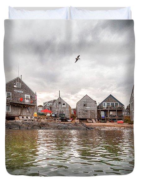 Fish Beach Duvet Cover