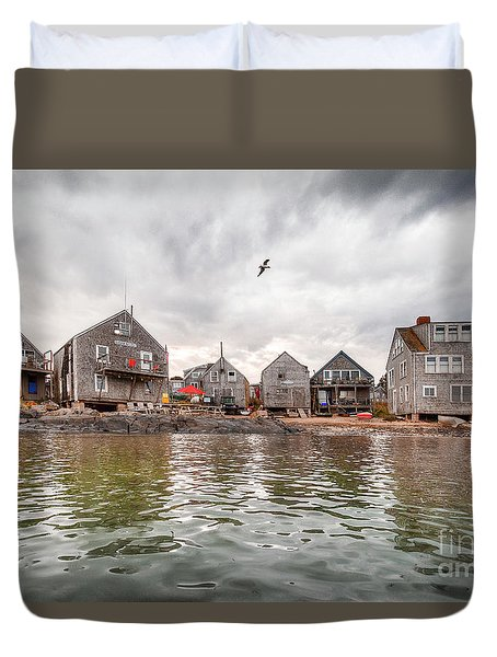 Fish Beach Duvet Cover