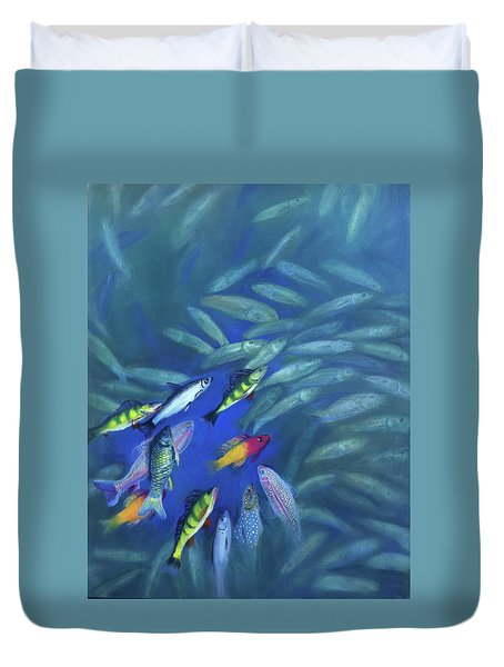 Fish Bowl Duvet Cover