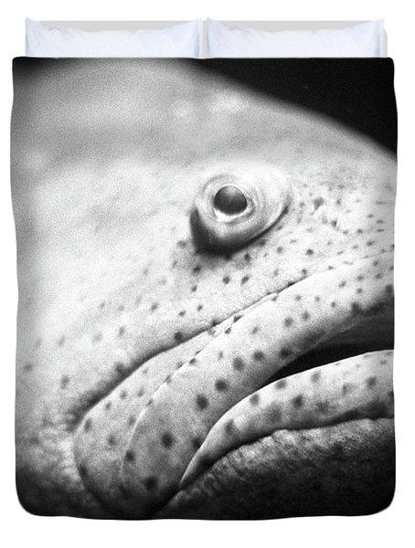 Fish Face Duvet Cover