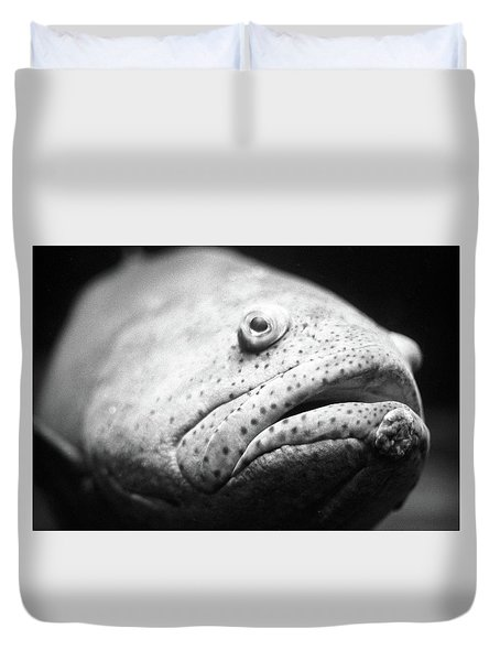 Fish Face Duvet Cover