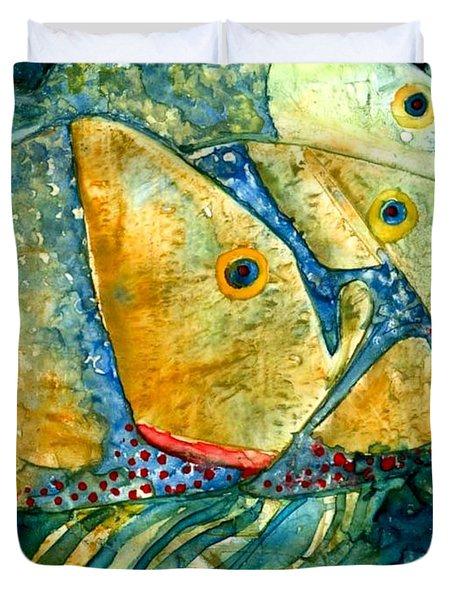 Fish Friends Duvet Cover