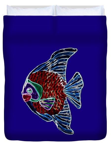 Fish In Water Duvet Cover