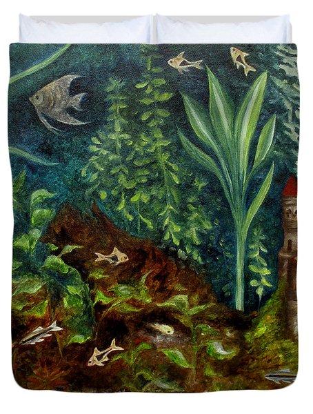 Fish Kingdom Duvet Cover