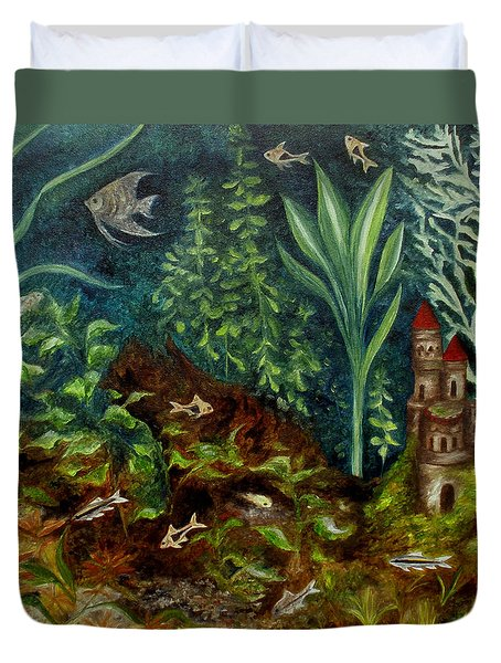 Fish Kingdom Duvet Cover